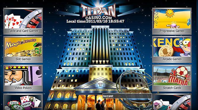 Titan Cassino tanto para desktop e móvel