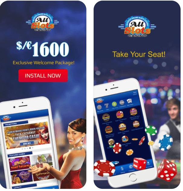 All Slots Casino Aplicação