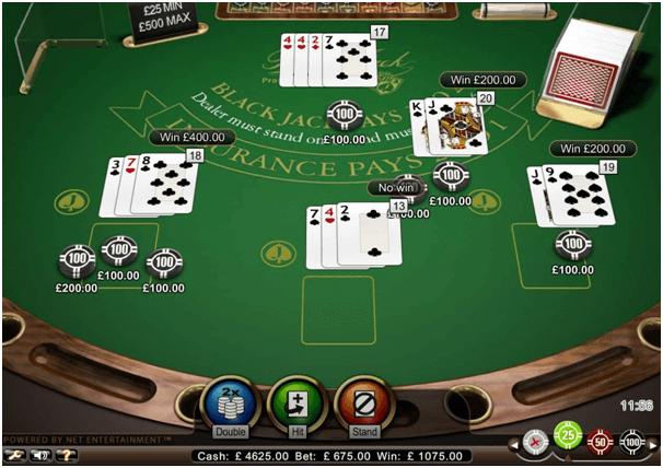 Blackjack Europeu Limite Alto