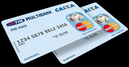 Cartões de débito pré-pagos