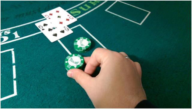 Duplique a aposta no Blackjack
