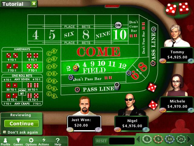 hoyle casino 13 dados craps pc