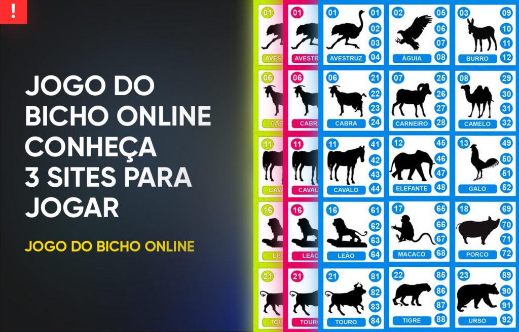Jogo do bicho online conheça 3 sites para jogar
