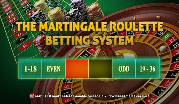 Sistema de roleta de apostas Martingle