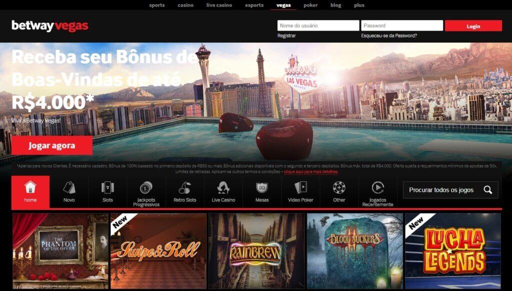 betway online casino login