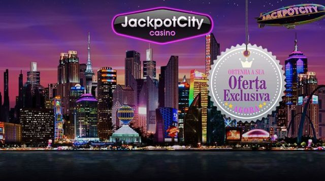 Jackpot City para Desktop, Android e Mobile