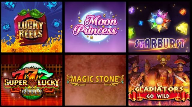 Variedades de jogos de slots