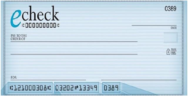 cheque depósitos
