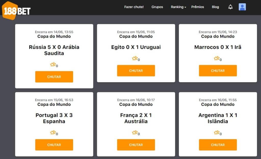 copa mundo 2018 188 app