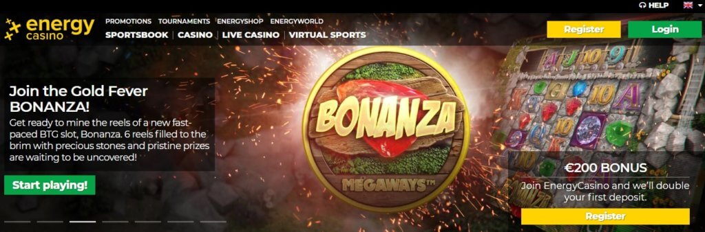 energy casino online